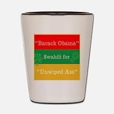 Swahili for Shot Glass