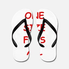 one size fits all Flip Flops