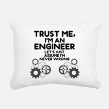 Trust me, I'm an Engineer Funny Rectangular Canvas