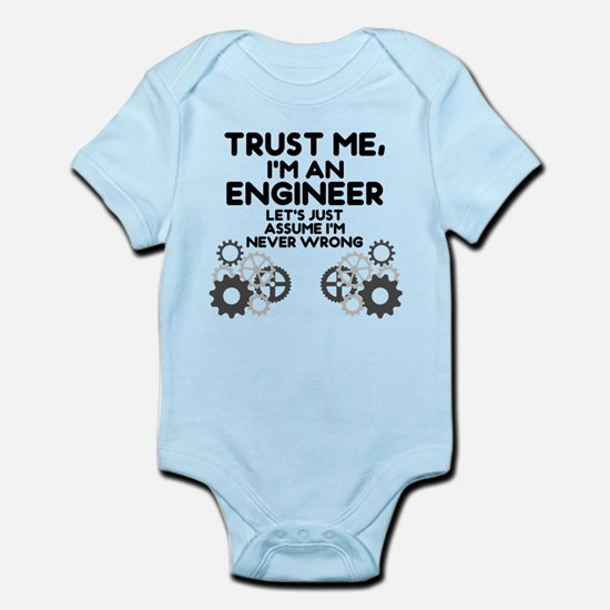 Trust me, I'm an Engineer Funny Body Suit