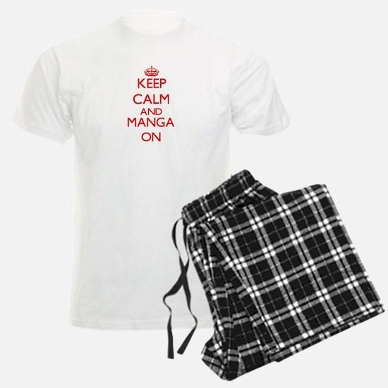 Keep calm and Manga ON pajamas