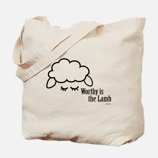 Tote Bag - Worthy Is The Lamb