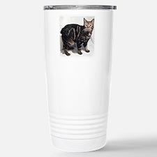 Funny Manx cat Travel Mug