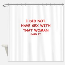 sex joke Shower Curtain