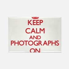 Keep calm and Photographs ON Magnets