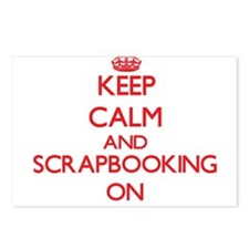 Keep calm and Scrapbookin Postcards (Package of 8)
