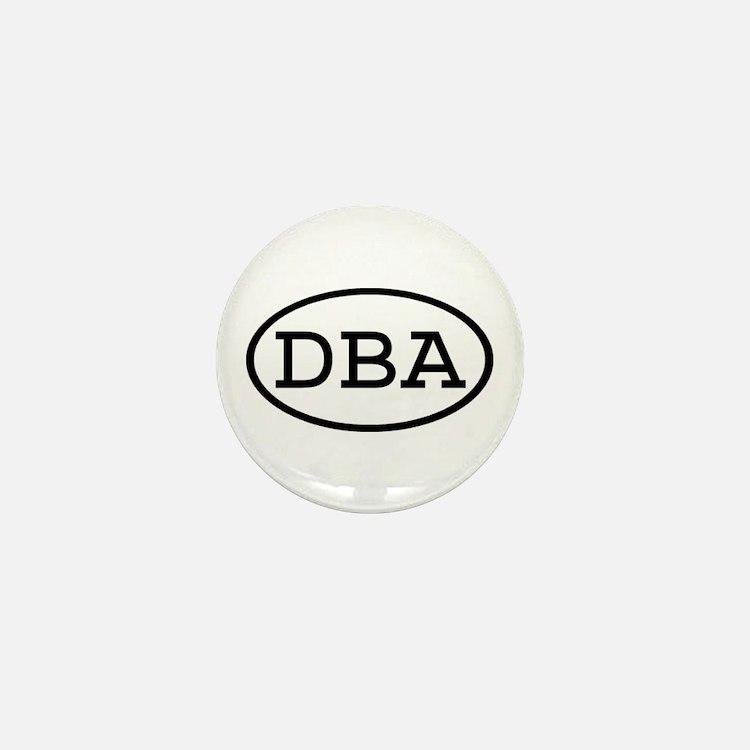 DBA Oval Mini Button