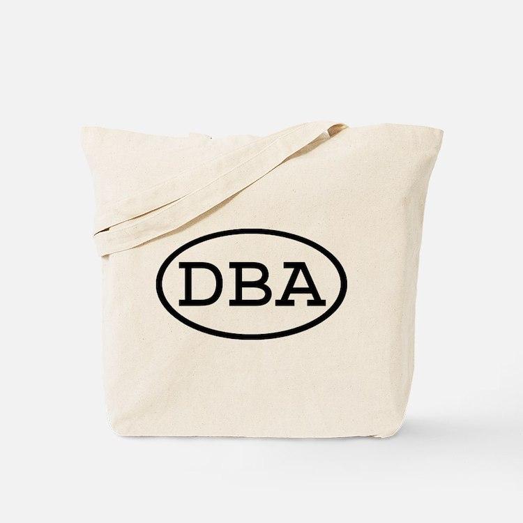 DBA Oval Tote Bag