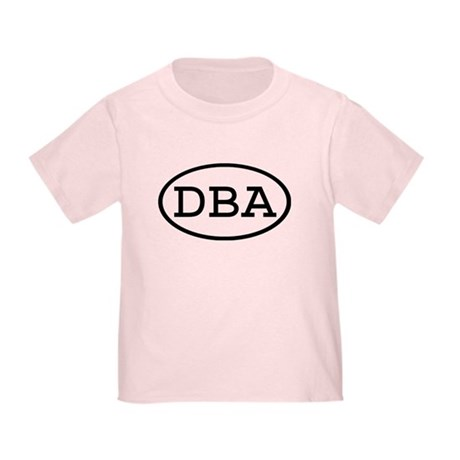 DBA Oval Toddler T-Shirt