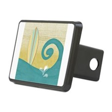 Sandy Beach Wave Surfboard Hitch Cover