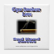 Cute Second hand smoke Tile Coaster