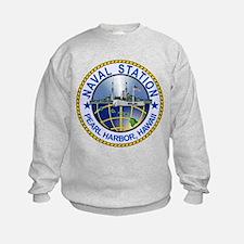 Naval Station Pearl Harbor Sweatshirt