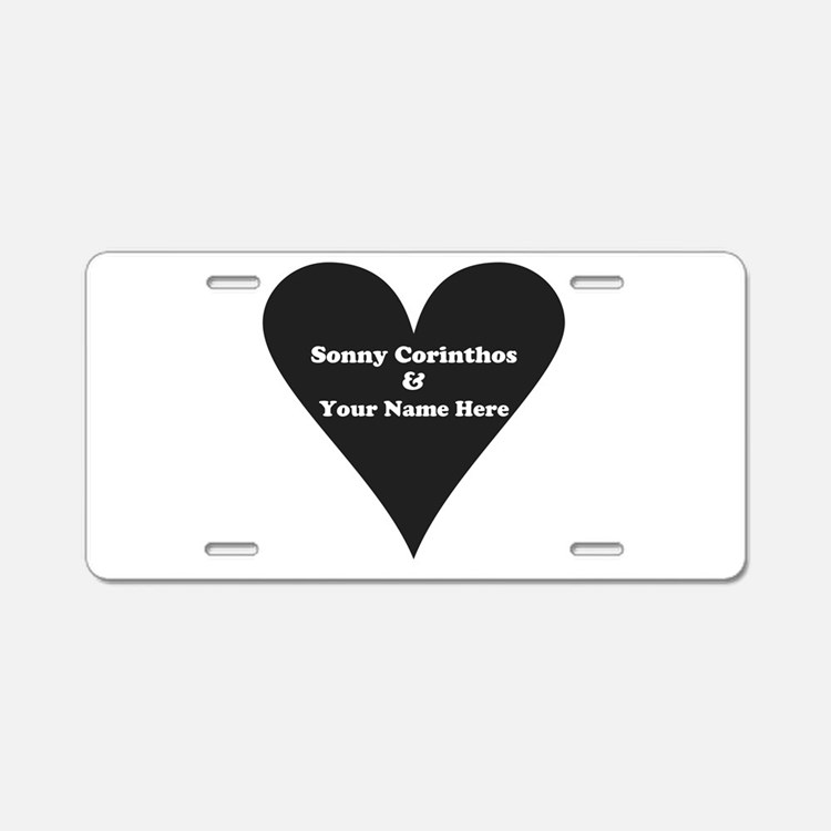 Sonny Corinthos and Your Na Aluminum License Plate
