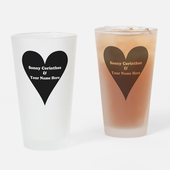 Sonny Corinthos and Your Name Drinking Glass