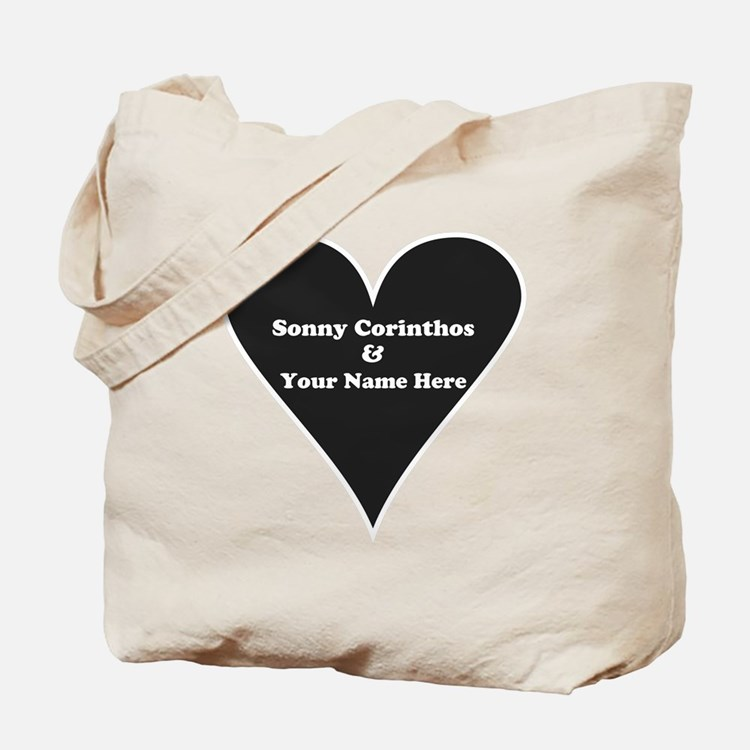 Sonny Corinthos and Your Name Tote Bag