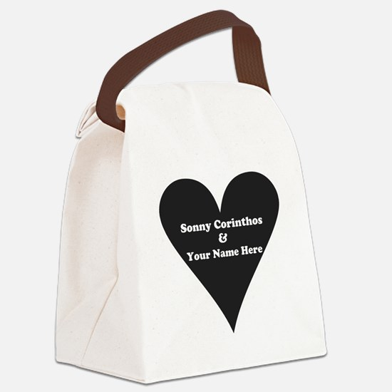 Sonny Corinthos and Your Name Canvas Lunch Bag