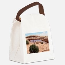 Mesa Arch, Canyonlands National P Canvas Lunch Bag