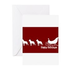 Unique Bull terrier Greeting Cards (Pk of 20)