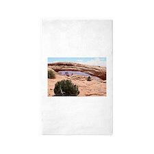 Mesa Arch, Canyonlands National Park, Uta Area Rug