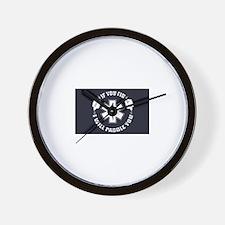 If You Fib Wall Clock