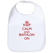 Keep calm and Biathlon ON Bib