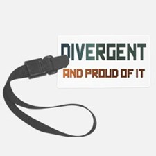 Proud Divergent Luggage Tag