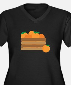Orange Crate Plus Size T-Shirt
