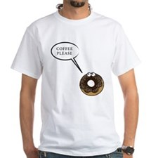 Coffee Please! Doughnut coffee lover Shirt