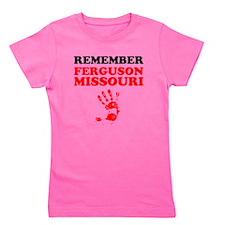 Remember Ferguson Missouri Girl's Tee
