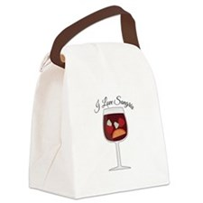 Love Sangria Canvas Lunch Bag
