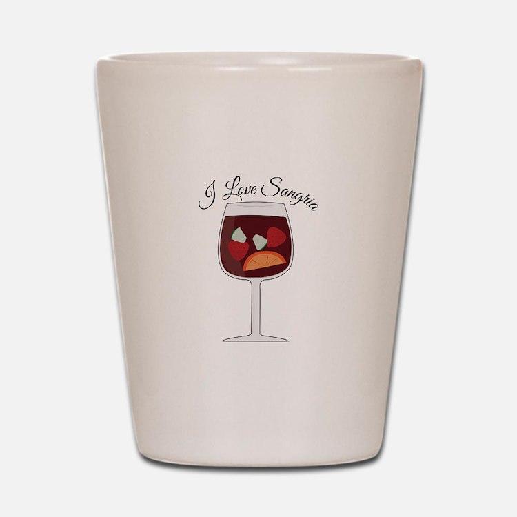 Love Sangria Shot Glass