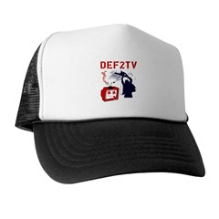 Death to Television Trucker Hat