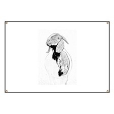 Unique Goat Banner