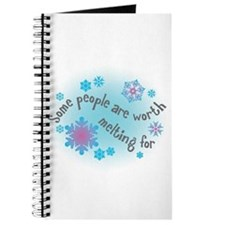 Some people are worth melting for Journal