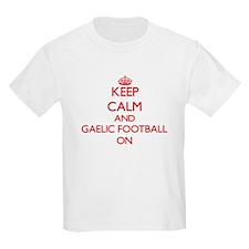 Keep calm and Gaelic Football ON T-Shirt