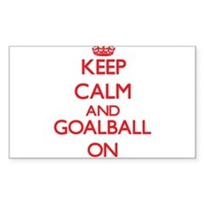 Keep calm and Goalball ON Decal