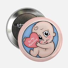 """Valentine Baby 2.25"""" Button"""
