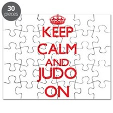 Keep calm and Judo ON Puzzle
