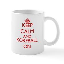 Keep calm and Korfball ON Mugs
