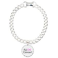 Funny Fuck cancer Bracelet