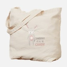 Somebunny Candy Tote Bag