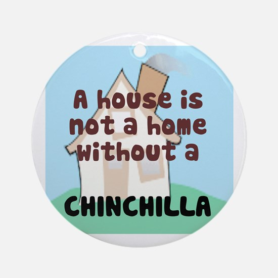 Chinchilla Home Ornament (Round)