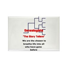 Cute Genealogy Rectangle Magnet