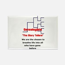 Cute Ancestry Rectangle Magnet