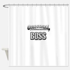 original boss Shower Curtain