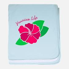 Hawaiian Life baby blanket