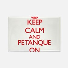 Keep calm and Petanque ON Magnets