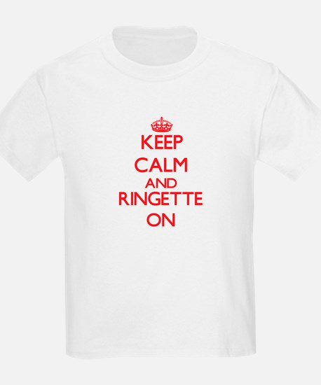 Keep calm and Ringette ON T-Shirt