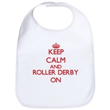 Keep calm and Roller Derby ON Bib