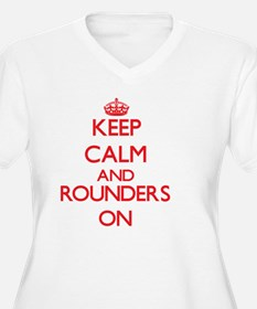 Keep calm and Rounders ON Plus Size T-Shirt